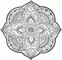 2183 best coloring mandalas images on pinterest coloring pages