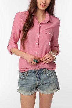 BDG Oxford Boyfriend Shirt  #UrbanOutfitters <3 OMG love!!!