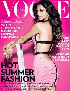Deepika Padukone on the Cover of Vogue India, March 2011  MissMalini
