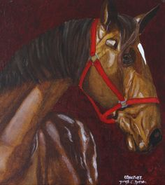 Original, vibrant equine paintings by James C. Byrne Artist capturing the essence of the individual horse. Artist, Shop, Artists, Store