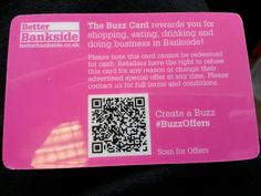 #BuzzOffers QR code on reverse of my Buzz card. Landed here http://pinterest.com/pin/15692298672823684/