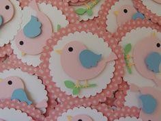 Bird Birthday Parties, 1st Birthday Girls, Bird Party, Handmade Gift Tags, Bird Theme, Kids Board, Hand Applique, Candy Cards, Baby Shower