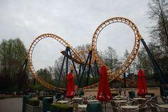 Bellewaerde Park Belgium  - Boomerang ride