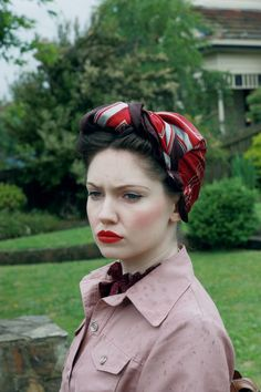 I prefer being a classic beauty. Most men I know don't prefer my appearance, because I appear more matronly than other girls my age.  However, it also means I am able to weed out the boys from the men sooner rather than later. (pin up turban)