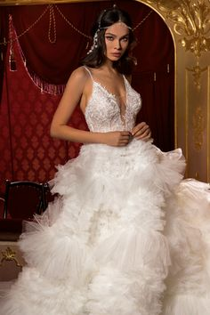 Magic of the Universe - wedding dress collection Tesoro couture Dress Collection, Universe, Couture, Bridal, Wedding Dresses, Bridal Dresses, High Fashion, Bridal Gowns, Bride