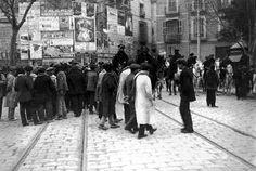 Barberá Masip Calle de las Barcas: huelga general en 1914