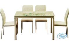 Jídelní set Damar 4+1 béžová – FALCO Jídelní set vhodný do každého interiéru se skládá ze 4 čalouněných židlí a skleněného stolu. Jídelní židle jsou vyrobeny z umělé kůže, nohy jsou v barvě chrom. Jídelní … Dining Sets, Dining Chairs, Furniture, Home Decor, Dinner Sets, Decoration Home, Dining Room Furniture, Room Decor, Dinnerware