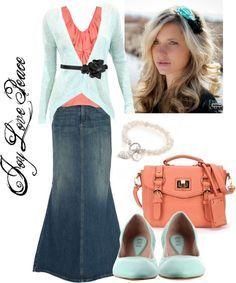 pentecostal outfits | Apostolic Pentecostal Clothing!!!!! :D / Mint Julia | best from pinterest