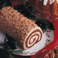Yule Log done as a wedding cake?? Chocolate cake with Mocha Buttercream?