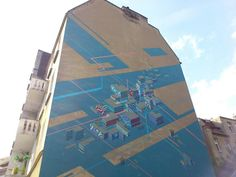 #streetart #mural #wilda #outerspaces #poznań