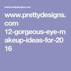 www.prettydesigns.com 12-gorgeous-eye-makeup-ideas-for-2016