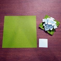 ↑上の画像の小さい方が、今回作る「ちびアジサイ」です。 前ページに続いて、同型ミニチュアサイズの作り方をレポー…