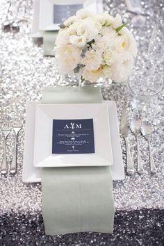 40 Winter Glam Wedding Ideas | HappyWedd.com