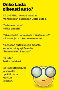 onko_lada_oikeasti_auto_2 Really Funny Memes, Texts, Jokes, Lol, Cards, Laughing So Hard, Chistes, Memes, Texting