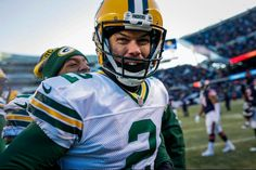 Mason Crosby made the winning field goal 12-19-16 Packers vs Bear's