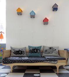 cushions by Matthew Langille at kidsroomZOOM! 2013 #kalon