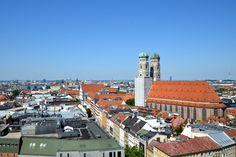 Die Frauenkirche, gesehen vom Alten Peter Kirchen, Bavaria, Munich, Germany, Pictures, Beautiful Life, Vacation, Tips, Nice Asses