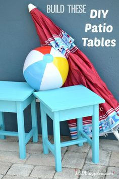 Build Diy Patio Tables