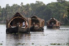 Las maravillosas 'backwaters' de Karala abarcan 900 kilómetros entre ríos, lagos y lagunas interconectados. El modo más apacible de disfruta...