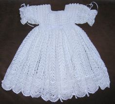 34 Awesome crochet christening gowns free patterns images                                                                                                                                                                                 More