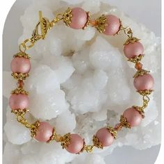 Claudine création bijoux fantaisie - Un grand marché Swarovski, Or Rose, Creations, Beaded Bracelets, Boutique, Jewelry, Roses, Fashion, Crystal