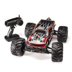 JLB Racing CHEETAH 1/10 Brushless RC Remote Control Car Monster Trucks 11101 RTR Upgraded Version:BiBset.com