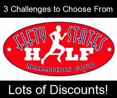 Fifty States HALF Marathon Club  www.halfmarathonclub.com    Keywords: half marathon, half marathons, half marathon club, running