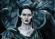Drawing: Maleficent