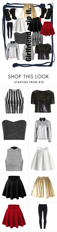 """Hi 5"" by starbucks-cake ❤ liked on Polyvore featuring Bundy & Webster, Topshop, Reiss, Acne Studios, Chicwish, 28.5, Paige Denim and Giuseppe Zanotti"