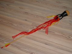 LARP flame arrow. I am really digging the little cage at the back of the head where the tails/flames are attached.