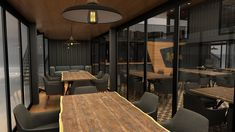 Next Container // Lokma on Behance Building A Container Home, Container Buildings, Container Architecture, Container House Plans, Container House Design, Small House Design, Shipping Container Cafe, Shipping Container Home Designs, Container Coffee Shop