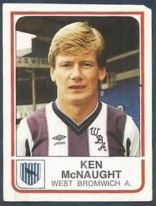 Ken McNaught - West Bromwich Albion