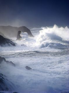 Storm ~ Depoe Bay, Oregon - just there yesterday - and it was sooooo stormy!