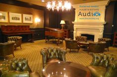 This elegant sitting room at Evanston Golf Club can be used for small business meetings, or as a bridal party room. http://www.discjockey.org