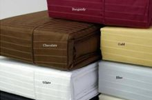 Thread Count *Deep Pockets fits up to mattress Hemming with Festoon/piping *Fitted with elastic all around for proper fit Burgundy And Gold, Blue And White, Egyptian Cotton Bedding, King Pin, Water Bed, King Sheet Sets, Cotton Sheet Sets, Weave, Count