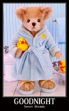 Goodnight sweet dreams teddy bear