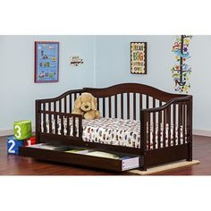 Dream On Me Toddler Bed With Storage Reviews Wayfair Toddler Day Bed Toddler Bed With Storage Convertible Toddler Bed