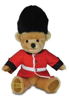 Our London Guardsman collectable teddy bear is a true British icon and is handmade entirely in England. Available online at www.historicroyalpalaces.com