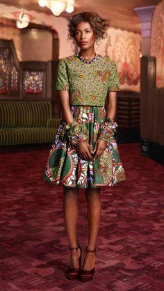 ~African fashion.