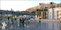 Acropolis Museum Restaurant: traditional cuisine with the view of Parthenon - Think Athens - Plan your trip in athens Parthenon, Acropolis, Famous Places, Museum Of Modern Art, Plan Your Trip, Places To Eat, Athens, New York Skyline, Greece