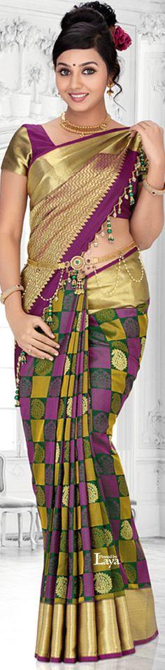 Wedding Indian Saree Saris India Ideas For 2019 South Indian Bride, Indian Bridal, Indian Beauty Saree, Indian Sarees, Mode Outfits, Stylish Outfits, Saree With Belt, Desi Wear, Fancy Sarees