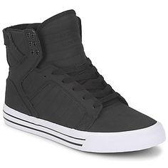 2012 New Supra Skytop In White Black   -Shoes   Pinterest   Supra skytop,  Wardrobes and Black