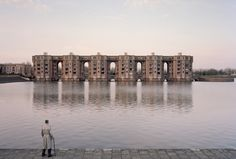 Les Arcades du Lac by Ricardo Bofill