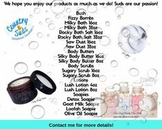 How to clean a plancha? Bath Fizzies, Bath Salts, Country Scents Candles, Fizzy Bath Bombs, Grand Opening, Body Butter, Beauty Care, Bath And Body, How To Apply