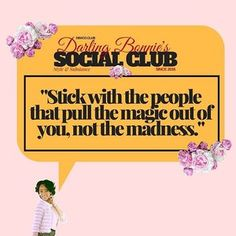 ✨ Social Club Rule Of The Week: Stick With those that encourage magic, keep away from those who promote madness. -- ⚡️Social Club Track Of The Week: 'Come 4 Me' - Abra (@darkwaveduchess) -- Currently Playing inside Darling Bonnie's Social Club -- Address: DBXCO.CLUB ✨