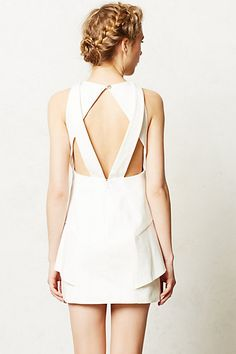 Back of Origami Shift Dress from Anthropologie. pretty much my dream dress.