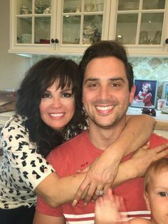 Marie Osmond and son Stephen