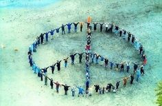 Human peace sign on the beach - photo art magnet at Etsy Harmony Peace Love Happiness, Peace And Love, My Love, Hippie Peace, Hippie Love, Hippie Chick, Peace On Earth, World Peace, Good Vibes