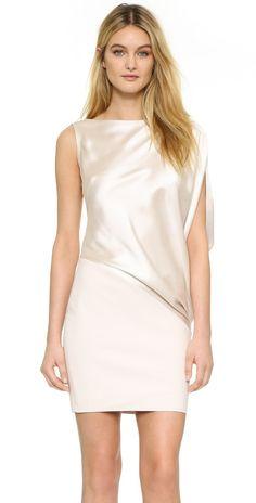 KAUFMANFRANCO One Shoulder Dress   SHOPBOP