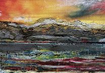 Photos - Google+ Wales Uk, Encaustic Art, Texture Art, Mixed Media, Wax, Layers, Studio, Abstract, Google